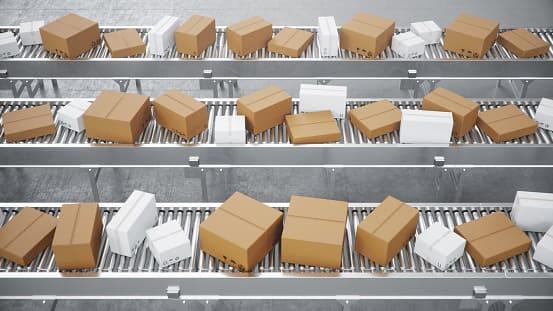 складской конвейер